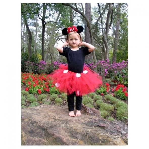 Minnie Mouse Tutu Costume. I think for Skylie's bday outfit with a red and white polka dot number 2 on the shirt maybe?