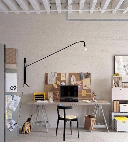 Via Decor8: Interior, Idea, Offices, Home Office, Work Spaces, Workspaces, Desk