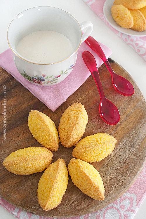 Biscotti al cocco per celiaci e senza lattosio ricetta facile e buonissima - Coconut cookies easy recipe
