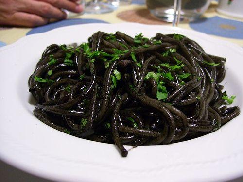 pasta con nero di seppie