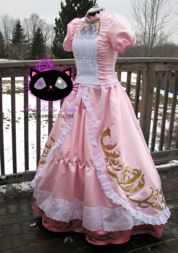 Super Mario Bros Princess Peach #cosplay #costume by Ridikitty on Etsy, $400.00