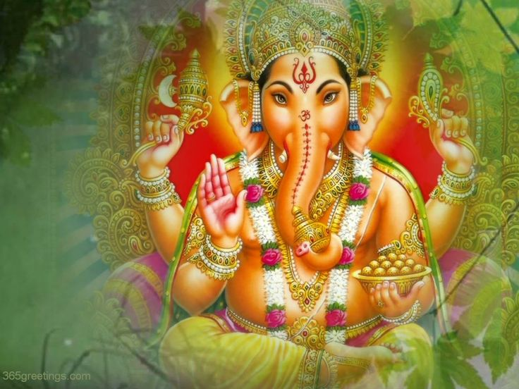 Ganesha is one of the most worshipped Gods of Hinduism. He has a human body and an elephant head. More at http://indiachezmoi.wordpress.com. #indiachezmoi