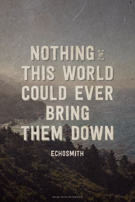 Echosmith- Cool Kids, Lyrics