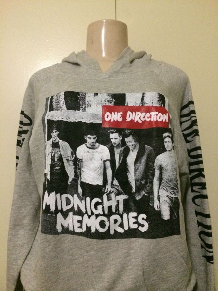one direction 1d  gray hoodie - $22.99 I want this soo much!!!