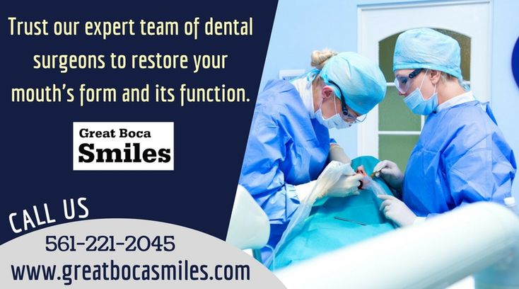 Are you planning to have a cosmetic dental surgery in Boca Raton to improve your teeth? Great Boca Smiles dental specialists provide a full range of dental services. Trust our expert team of dental surgeons to restore your mouth's form and its function. If you have any queries? Call us: 561-221-2045.