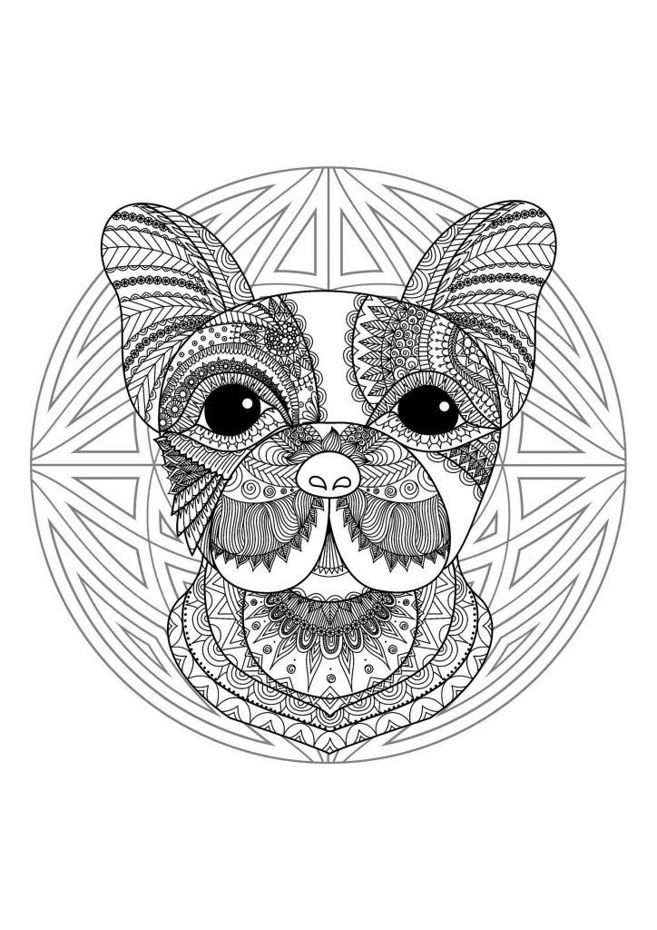 Animal Mandala Coloring Pages Best Coloring Pages For Kids Dog Coloring Page Animal Coloring Pages Coloring Pictures Of Animals