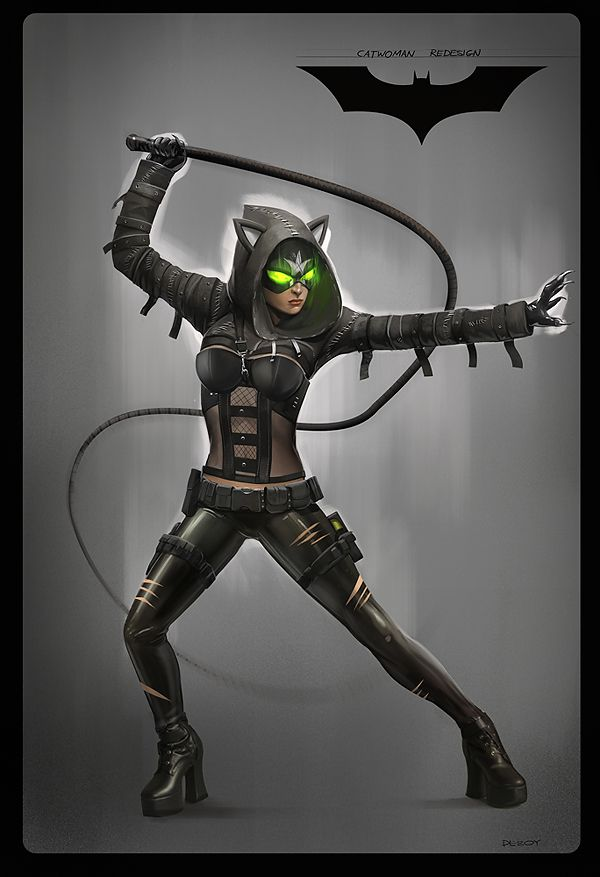 Catwoman redesign