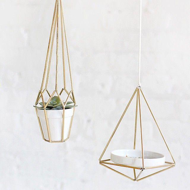 DIY KIT | Brass Himmeli Hanger | I SPY DIY