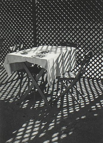 Imre Kinszki  (Hungarian, 1900–1944) Checkered World. Gelatin Silver Print. 1939