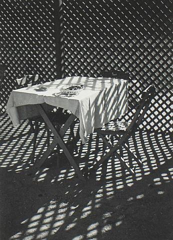 Imre Kinszki  (Hungarian, 1900–1944) Checkered World. Gelatin Silver Print. 1939