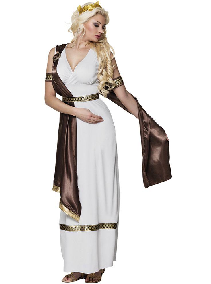 Adult costume goddess greek