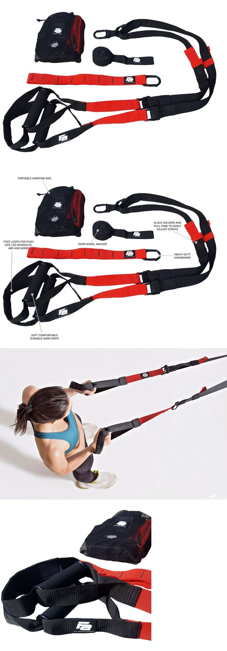 Resistance Trainers 79759: Fit Active Sports Suspension Body Trainer Straps - Fitness Home Gym Training Ban -> BUY IT NOW ONLY: $42.49 on eBay!