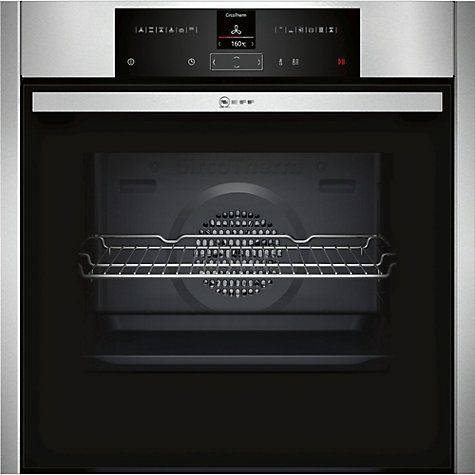 Buy Neff B25CR22N1B EasyClean® Pyrolytic Single Electric Oven, Stainless Steel Online at johnlewis.com