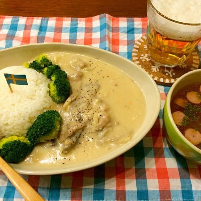 残りの豚汁をリメイク!! - 44件のもぐもぐ - 豚汁の残りで和風シチュー コンソメスープ by hasese