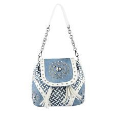 Borsa Donna Zaino Borsa A Tracolla Jeans Strass Glitter Secchio Bowling: EUR 42,71End Date: 15-ott 04:21Buy It Now for only: US EUR…
