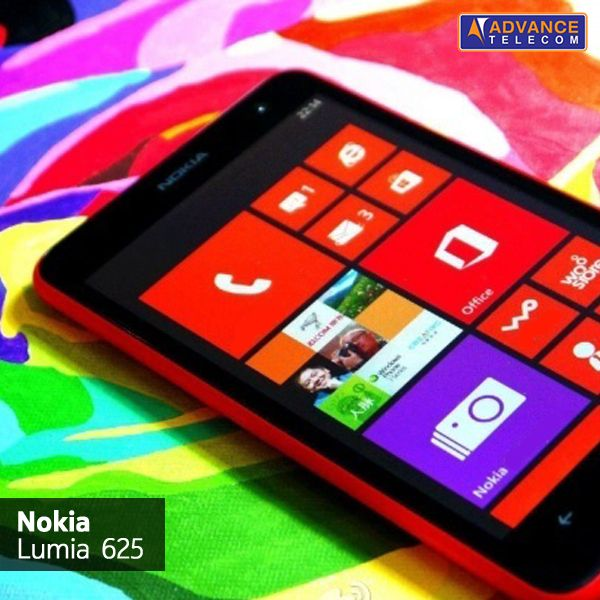 Color your world and go big with the big & bold Nokia Lumia 625!
