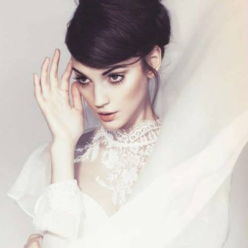 Nora Sarman / Andromeda silk blouse / Glamour