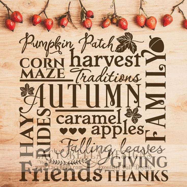 """""""Autumn Traditions pumpkin path corn maze harvest hay rides falling leaves friends giving thanks family""""  