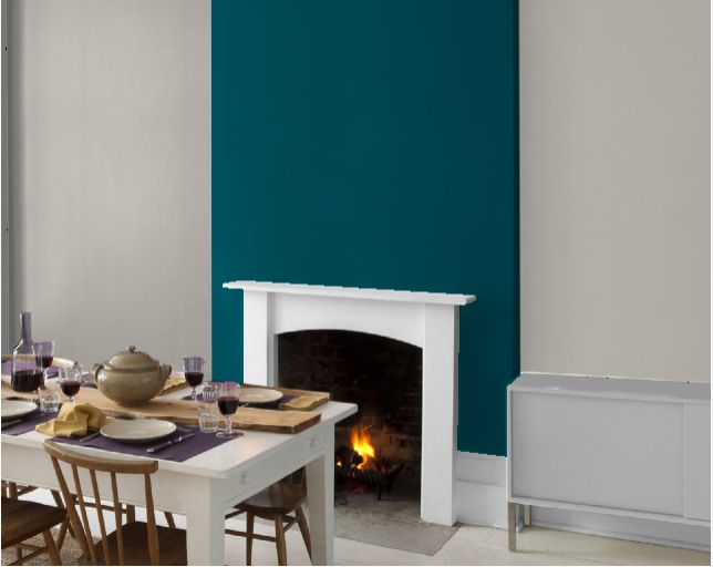 Dulux Teal Tension Amp Vintage Chandalier Teal Living