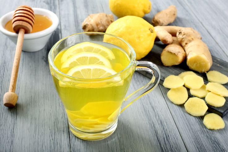 Lemon & Ginger Tea Recipe -