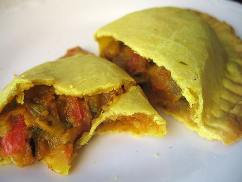 Vegetarian Jamaican Patties - So good some of my non-vegetarian friends liked them better than the meat version.
