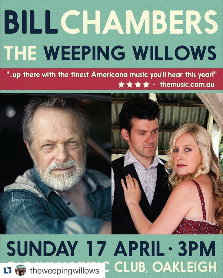 #Repost @theweepingwillows with @repostapp    @chambersbill1950  @theweepingwillows Double #AlbumLaunch  3pm Sunday 17th April at the Caravan Music Club #Oakleigh! Tickets from www.caravanmusic.com.au. #theweepingwillows #billchambers #caravanmusic #caravanmusicclub #country #countrymusic #folk #folkmusic #americana #americanamusic #AltCountry #AltFolk #SouthernGothic #GothicFolk #GothicCountry #GothicAmericana #launch #newmusic #newrelease #livemusic by kvan_photography…