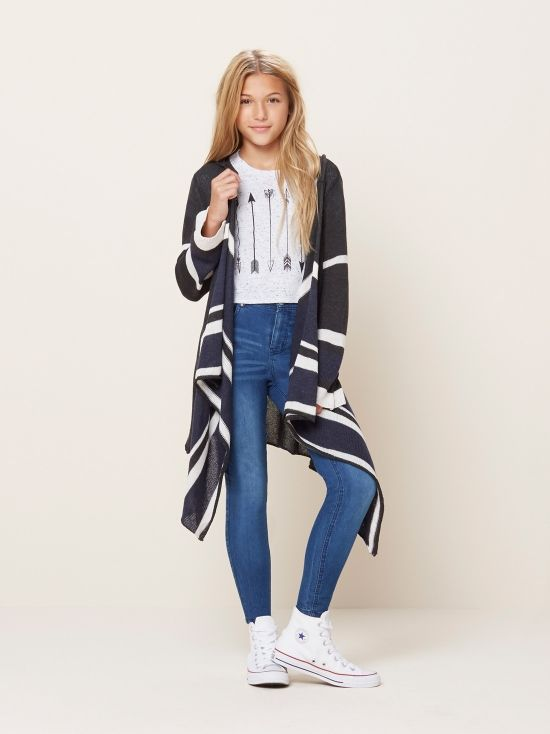 Oversized Hooded Cardigan from @itsmaddiestyle