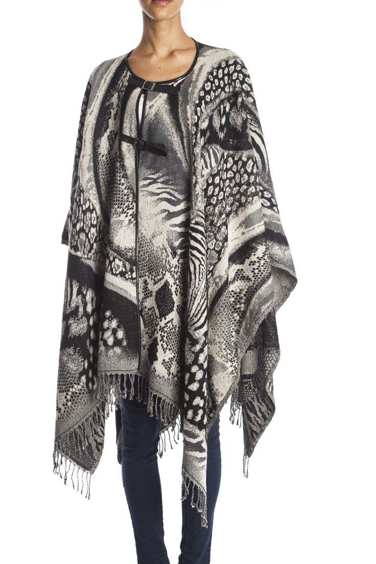 Zwart en wit vest/doek van Otra Cosa