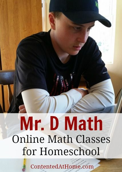 Mr. D Math: Online Math Classes for Homeschool