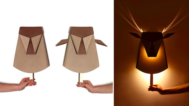 Buy This Glowing Antler Lamp Instead Of Shooting Bambi's Mom
