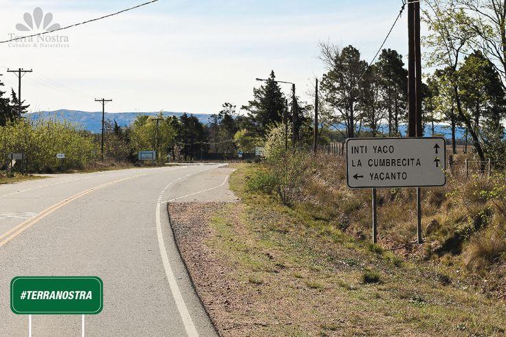 Camino a La Cumbrecita, pasamos por Intiyaco, pero también se puede llegar a Yacanto. Seguimos camino hacia Cabañas Terra Nostra La Cumbrecita en Córdoba #TerraNostra #Travel #Trip #Argentina #Cordoba #LaCumbrecita #Pin #Cabañas #Facebook -->> bit.ly/TerraNostra