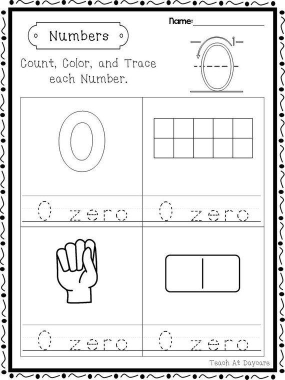21 Printable Numbers Count Color And Trace Worksheets Etsy In 2020 Printable Numbers Numbers Kindergarten Numbers Preschool