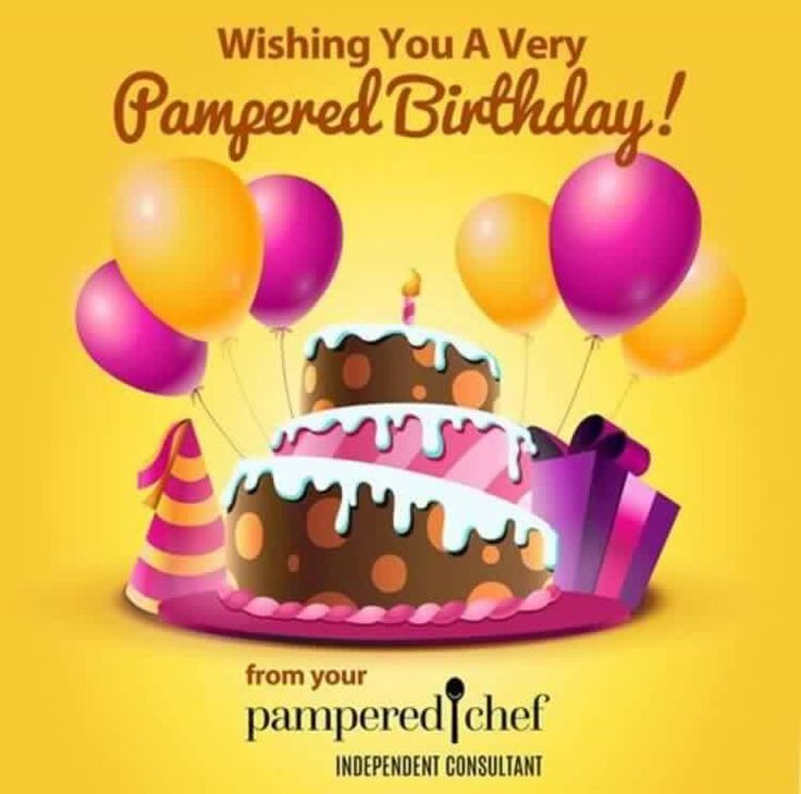 Image result for pampered chef happy birthday image with