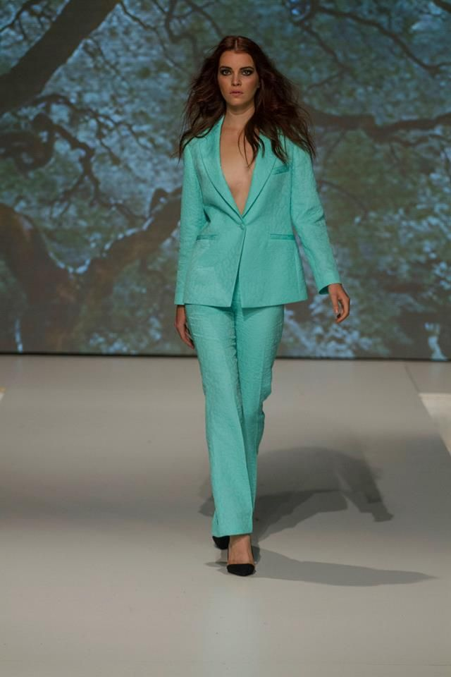 Collection of Izabela Komjati presented during Fashion LIVE! 2014