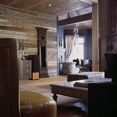 Старинная амбарная доска и мебель в фьюжн-интерьере - Старина Русского Севера
