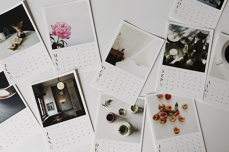 lingered upon: 2013 Instagram Photo Calendar