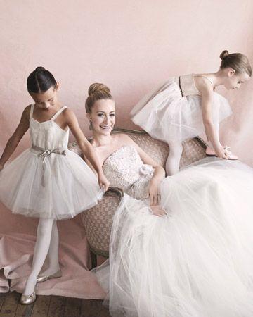 luv this ballerinasLittle Ballerinas, Dresses Up, Girls Generation, Ballet Inspiration Bridal, Ballerinas Flower, Bridal Fashion, Balletinspir Bridal, Flower Girls, Bridal Shoots