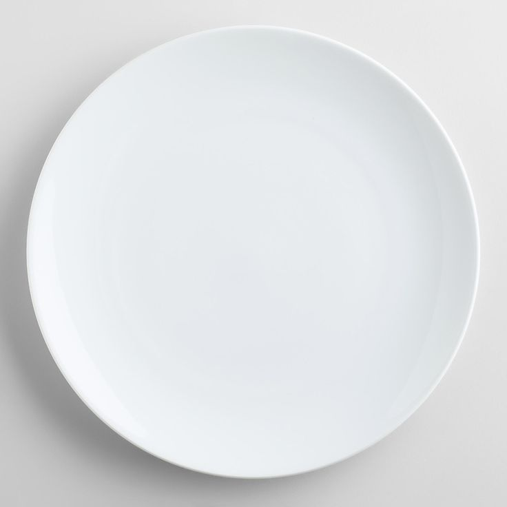 The classic style, bright white glossy finish and elegant simplicity of our Coupe Dinner Plates makes them instant go-to pieces for everyday meals and entertaining. Whether you pair them with colorful patterns or solid neutrals, you'll always set an inviting table with these new dining essentials.