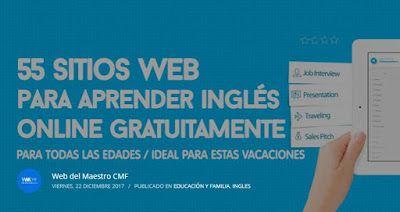 RECURSOS EDUCATIVOS: 55 SITIOS WEB PARA APRENDER INGLÉS ONLINE GRATUITA...