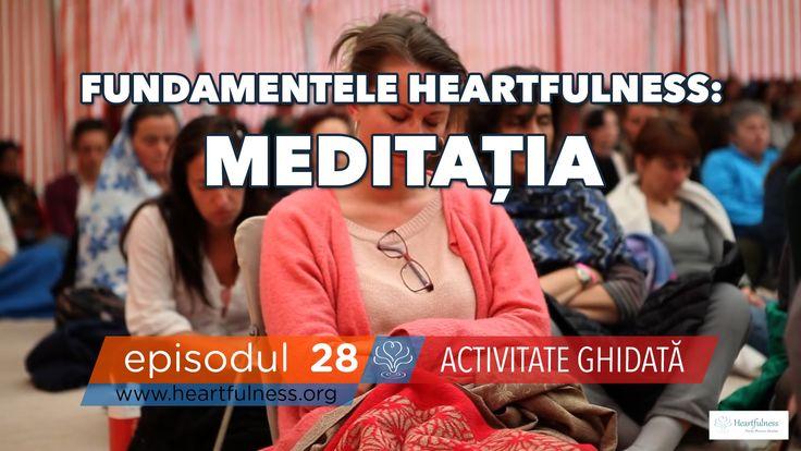 SERIE NOUĂ! heart emoticon FUNDAMENTELE HEARTFULNESS - ACTIVITĂȚI GHIDATE: MEDITAȚIA http://bit.ly/20KOgQ9 Acordă-ți câteva minute pentru a-ți relaxa corpul folosind tehnica de relaxare Heartfulness. Îndreaptă-ți atenția în interior și acordă-ți un moment pentru a te observa. Într-un mod blând, fă supoziția că Lumina Divină se află deja acolo, în inima ta. Gândește-te că lumina te atrage din interior.  Fundamentele Heartfulness: Meditația – Activitate ghidată   HFN 28