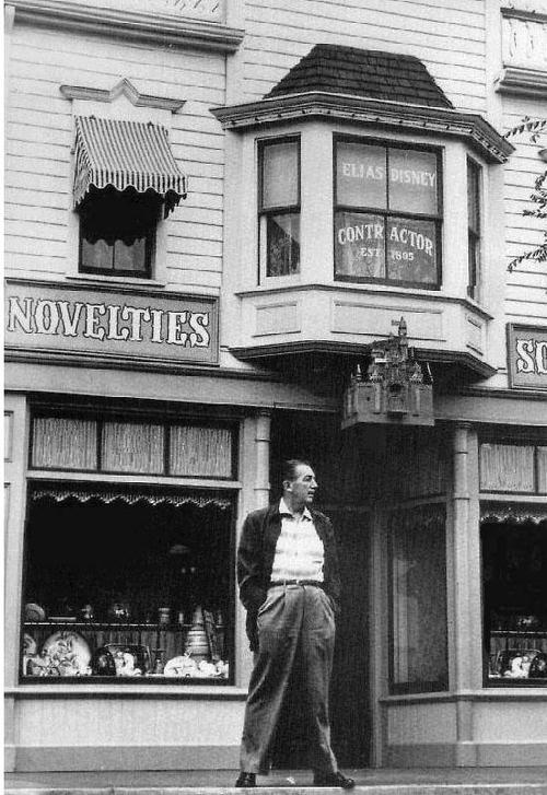 Walt Disney on Main Street USA