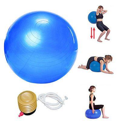 65cm Exercise Fitness Aerobic Ball for GYM Yoga Pilates Pregnancy Birthing Swiss