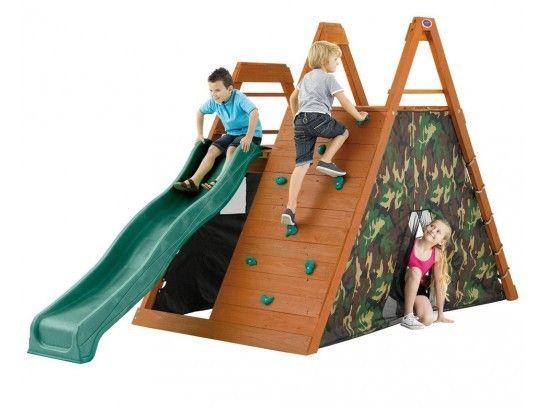 Plum® Climbing Pyramid Wooden Play Climbing Frame