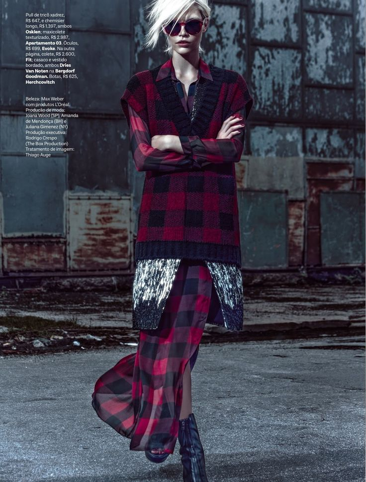 #alineweber gtunge inspired #fashion #editorial by zee nunes for #vogue brazil march 2013 #moda #fotografía #photography