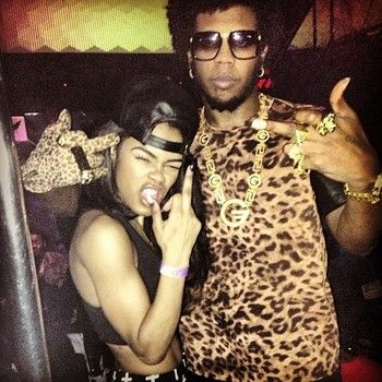 Trinidad James Celebrates With Teyanna Taylor For Her Birthday