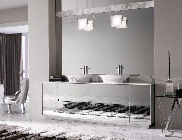 Milldue Four Seasons 16 Steel Luxury Italian Bathroom Vanities