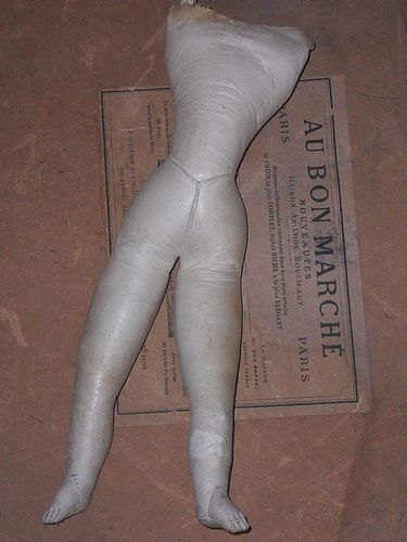 French Kid Poupee Body for Repair - WhenDreamsComeTrue #dollshopsunited