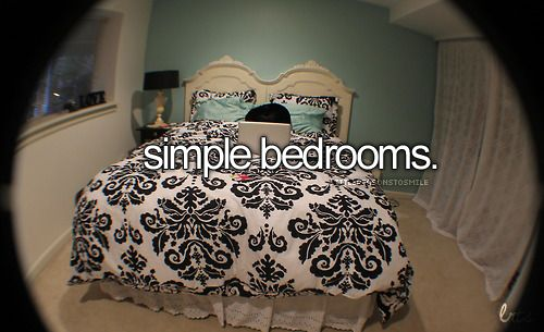 I want a simple, themed bedroom.