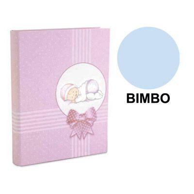 ALBUM 23X27 PLASTIFICATO BIMBO CELESTE 1046C-F1