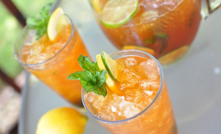 Bourbon Whiskey Iced Tea | NoshOnIt: Bourbon Whiskey, Summer Cocktails ...